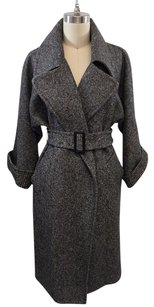 Max Mara Macario Black Trench Coat