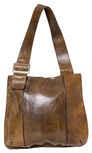 Maxx New York Large Leather Shoulder Bag