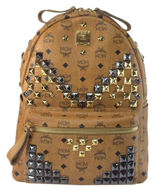 MCM Stark M Stud Medium Backpack best - www.voodoo-hockey.com.au