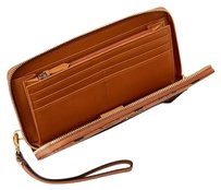 MCM Wristlet in Brown