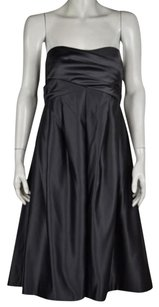 Melissa Sweet Womens Metallic Formal Below Knee Sheath Dress