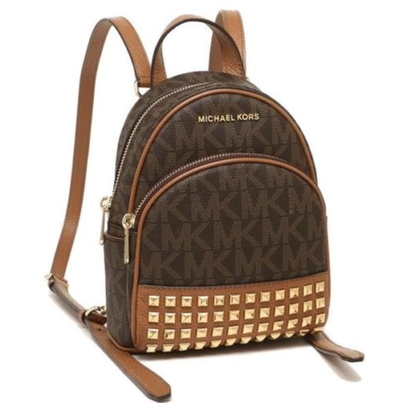 3d6c6dd192c66 australia michael michael kors rhea zip extra small studded backpack 15605  df379  where to buy michael kors mini bags up to 70 off at tradesy b6a89  969f7