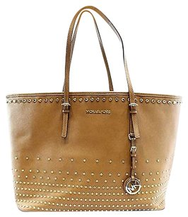 Michael Kors Brown Luggage Tote in Browns