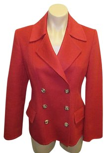 Michael Kors Italy Red Crimson Jacket
