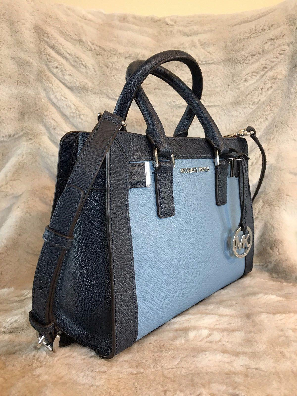 168e957b511d ... czech michael kors dillon crossbody satchel in blue navy. 12345678910  14caf 59970