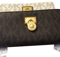 Michael Kors Hamilton Lg Zip Around