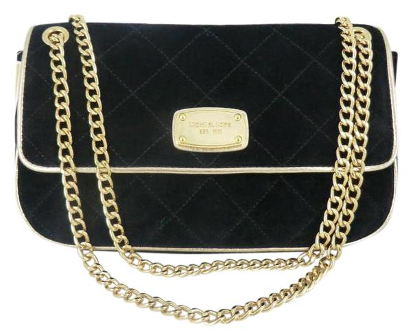 Michael Kors Michael Jet Set Chain Item Quilted Flap Shoulder Bag ...