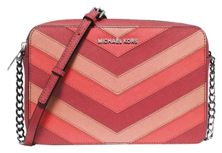 Buy pink mk crossbody bag   OFF77% Discounted 9a12874879