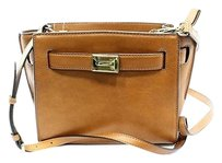 Michael Kors Brown Luggage Cross Body Bag