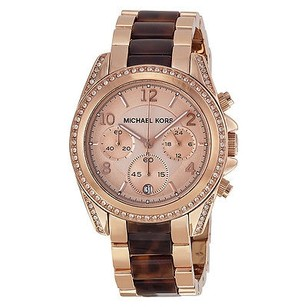 Michael Kors Michael Kors Blair Rose Dial Rose Gold-tone Ladies Watch