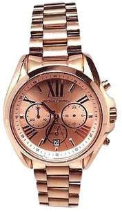 Michael Kors Michael Kors Bradshaw Chronograph Rose Gold-tone Watch Mk5503