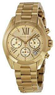 Michael Kors Michael Kors Champagne Dial Gold-tone Ladies Watch
