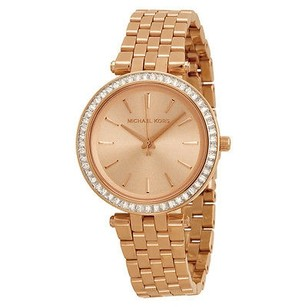 Michael Kors Michael Kors Mini Darci Rose Gold Tone Dial Steel Ladies Watch