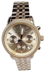 Michael Kors Michael Kors Ritz Chronograph Gold-tone Ladies Watch Mk5676