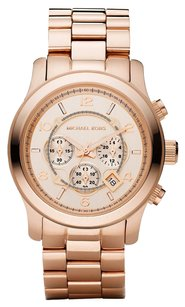 Michael Kors Michael Kors Runway Chronograph Rose Gold-tone Unisex Watch MK8096