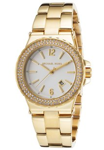 Michael Kors Michael Kors Silver Dial Gold Tone Stainless Women's Watch MK5920