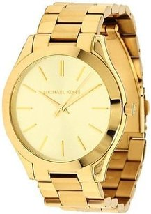 Michael Kors Michael Kors Slim Runway Gold-tone Ladies Watch Mk3179