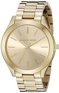 Michael Kors Michael Kors Women's MK3179 Runway Analog Display Analog Quartz Gold Watch