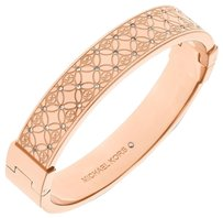 Michael Kors Michael Kors Women's Rose Gold Tone Bangle Bracelet