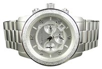 Michael Kors Micheal Kors Mm Stainless Steel Watch With Custom Set Diamonds 1.5 Ct