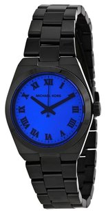 Michael Kors MK5993 MICHAEL KORS Blue Dial Black Ion-plated Watch