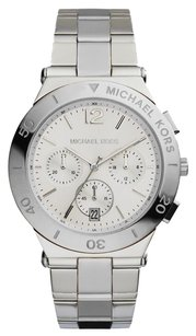 Michael Kors NEW WOMENS MICHAEL KORS (MK5932) WYATT STAINLESS STEEL CHRONOGRAPH WATCH