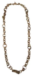 Michael Kors Nwt Michael Kors Brilliance Gold Tone And Stones Link Necklace 28