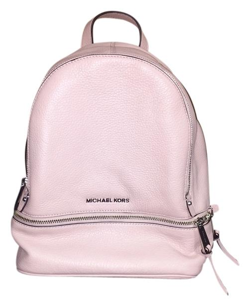 84655a56ce3480 ... uk michael kors rhea small leather backpack 832e6 fcb3f