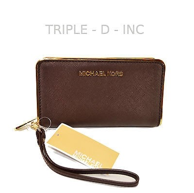 d9a7e5fd7f7ef8 ... sale michael kors jet set wallets up to 90 off at tradesy bc150 808b3