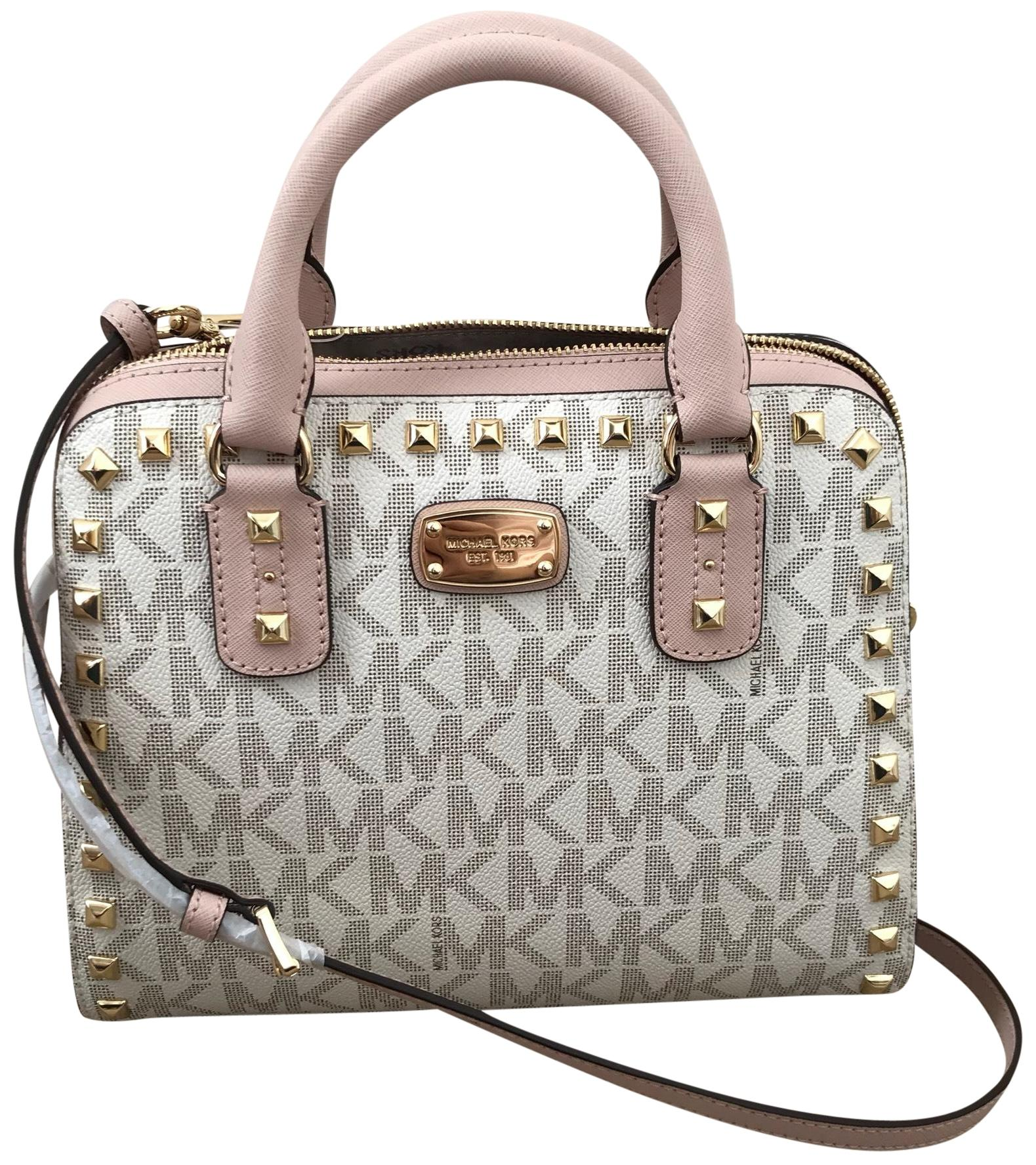 ffcc30c4be5f ... where can i buy michael kors satchel in vanilla ballet d1a5e 02529 ...