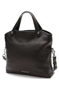 Michael Kors Michael Leather Hyland Satchel in Black