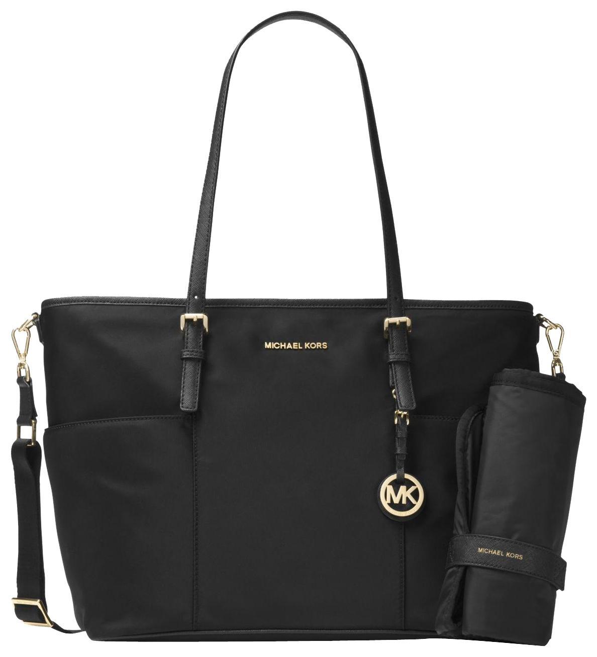 b2318c99eba8 ... low price cheap michael kors nylon 30h5gttt4c black diaper bag ecacc  ed24a 90716 fd337