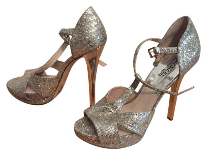 Charming Silver Michael Kors Wedding Shoes   Up To 90% Off At Tradesy