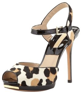 Michael Kors Tan/Black Sandals