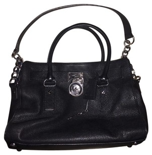 Michael Kors Tote in Black & Silver