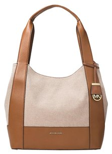 Michael Kors Tote in Brown & Cream