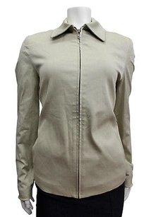 Michael Kors By Solid Olive Jacket