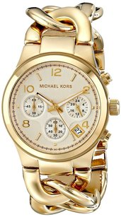 Michael Kors Women's Gold Tone Stainless Steel Watch