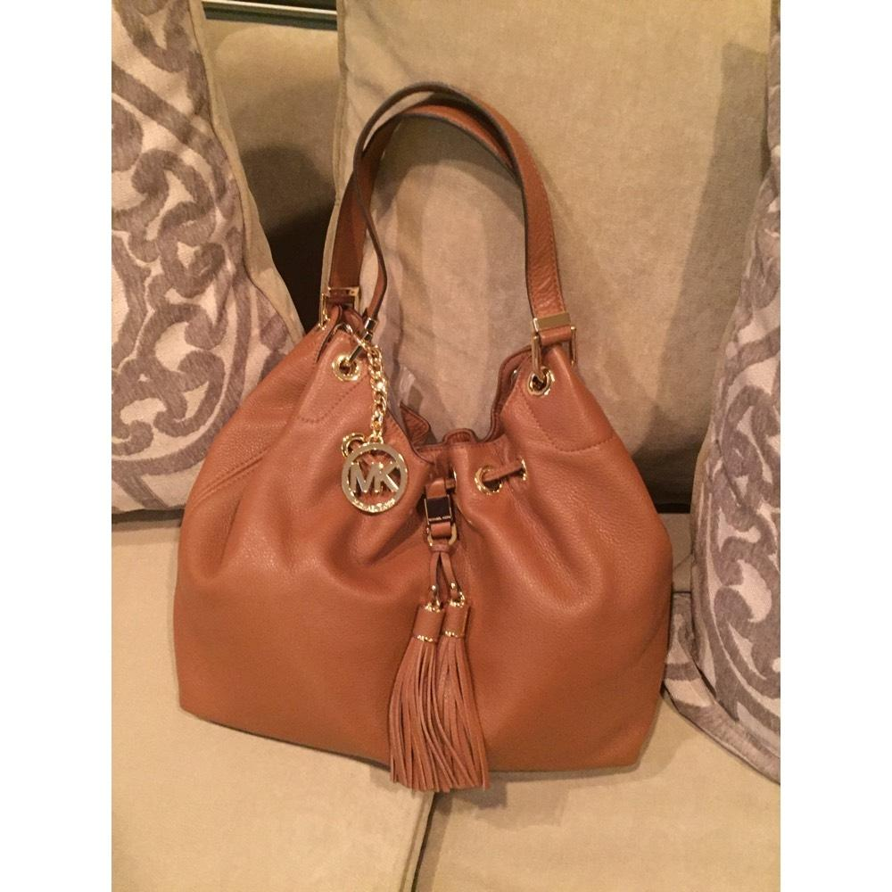 3308897d4920 ... ireland michael michael kors camden drawstring large shoulder tote tan  brown leather hobo bag tradesy 97429