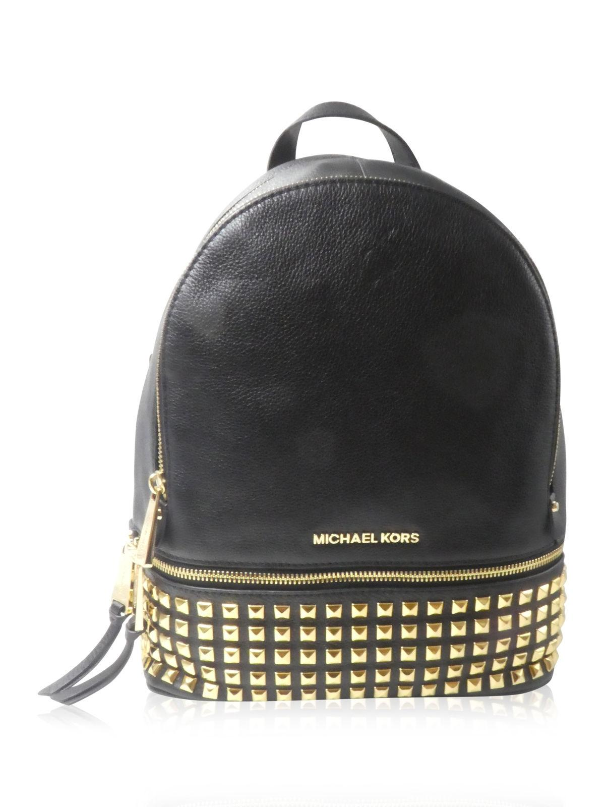485eef23ef5d ... coupon michael michael kors leather studded casual backpack f2cdb 23d54