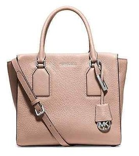 MICHAEL Michael Kors Selby Leather Satchel in Ballet