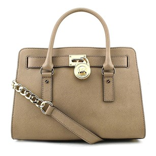 MICHAEL Michael Kors Hamilton East Satchel in Dark Dune