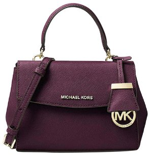 MICHAEL Michael Kors Ava Plum Satchel in Purple