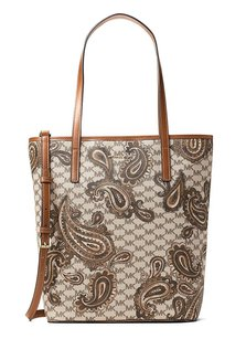MICHAEL Michael Kors Studio Emry North South Heritage Paisley Tote Shoulder Bag