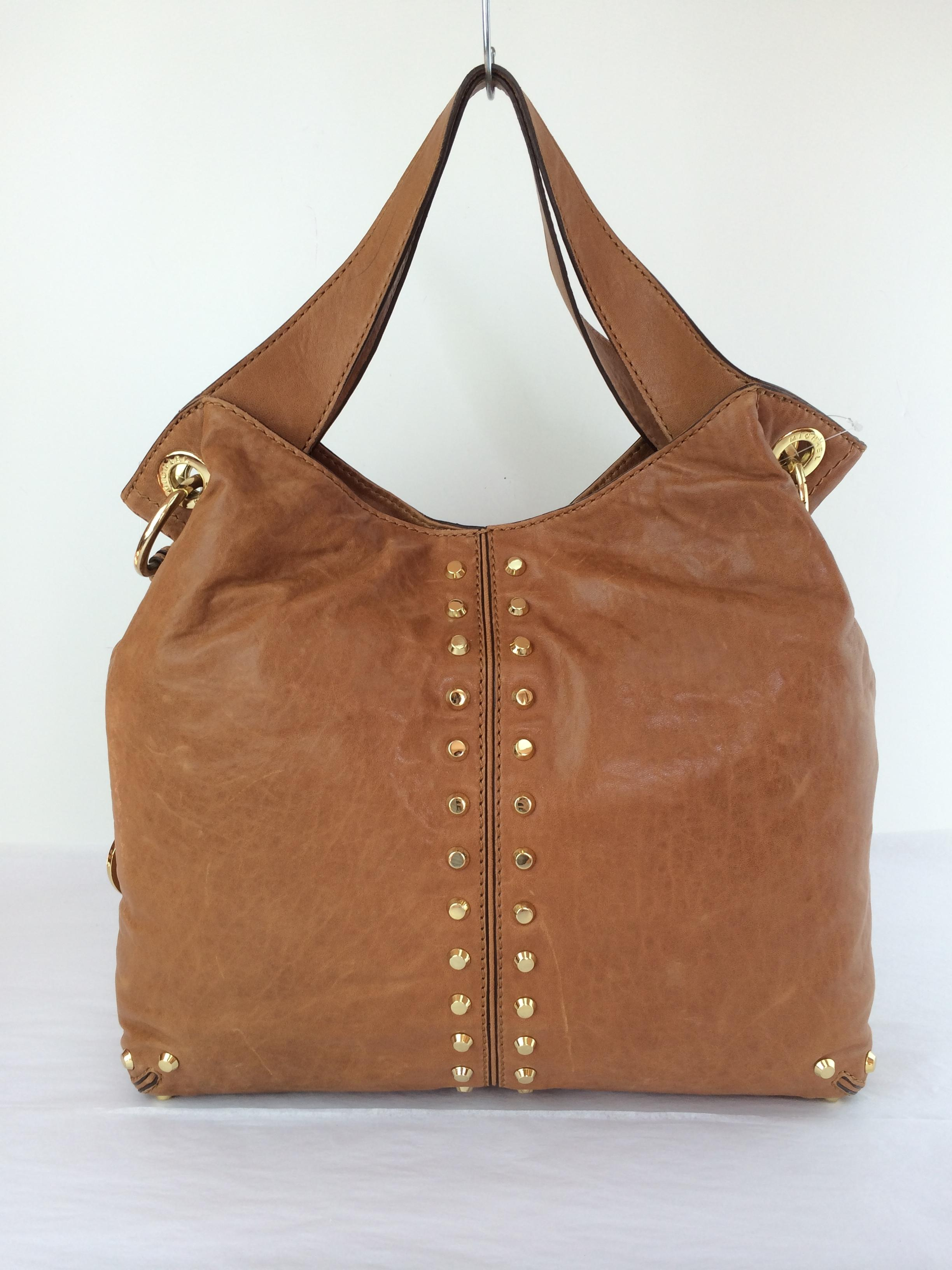 1197babd9562 ... france michael michael kors uptown leather shoulder tote in luggage  brown. 123456789101112 a1016 0b13b