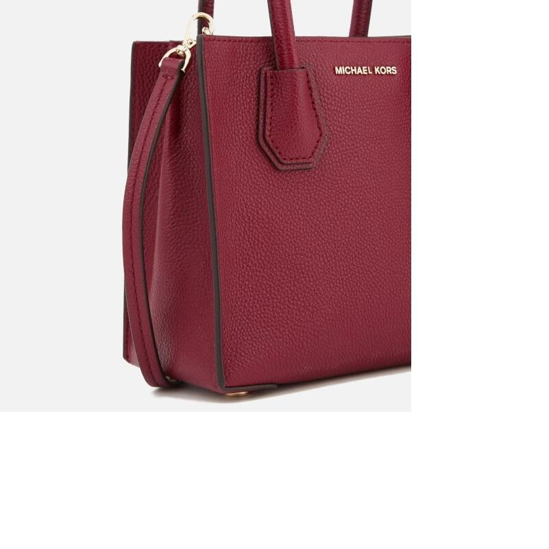 4cd3df3d4b76 ... inexpensive michael michael kors womens mercer tote mulberry leather  shoulder ed962 dfec0
