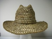 Michael Stars Michael Stars Paper Straw Hat Natural One Ms16080 Encased Ribbon