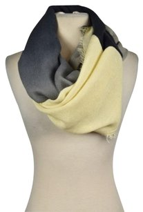 Michael Stars Michael Stars Womens Navy Creme Infinity Scarf Os Ombre Casual