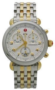 Michele MICHELE CSX Two Tone Stainless Chronograph Watch MWW03D000026