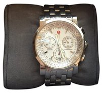 Michele Sport Sail Enamel Dial Chronograph Ladies Watch Michele Sport Sail Diamond White Dial Watch